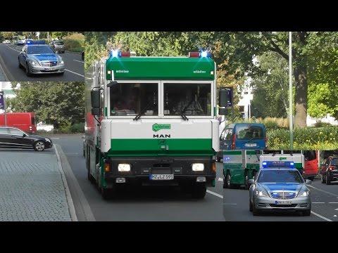 [Durchsage: Kamera aus] Werttransport der Bundesbank in Hagen