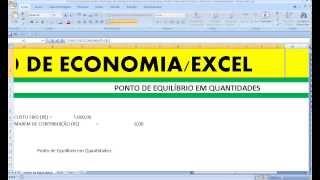 Curso de Economia Análise do Ponto de Equilíbrio Econômico em Quantidades Análise Demanda Oferta