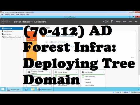 Deploying Tree Domain in Existing Windows Server 2012 R2 AD Forest