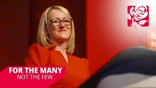 Rebecca Long-Bailey's speech to Labour Conference