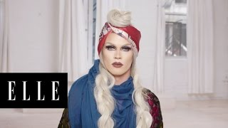 Pearl's Amazing Drag Transformation | About Face | ELLE