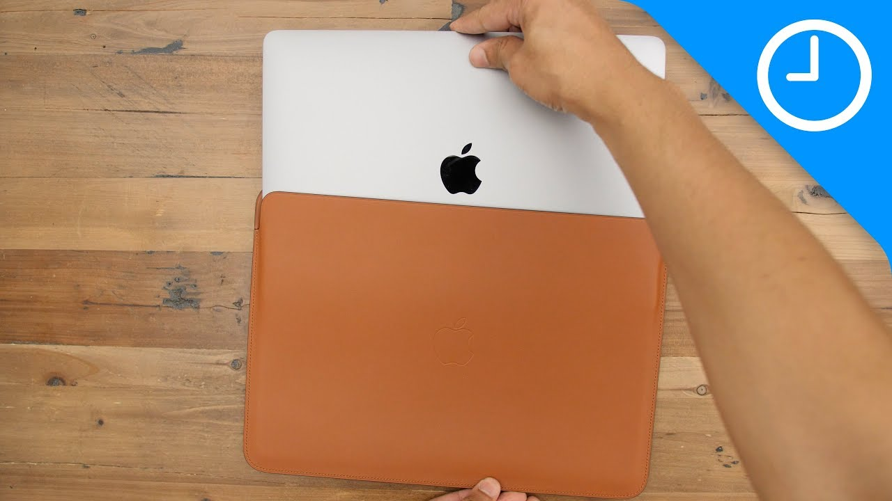 more photos 5fd53 8837d Review: MacBook Pro Leather Sleeve - worth the high price?