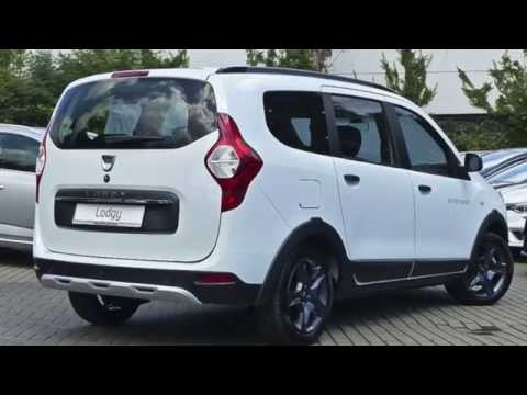 dacia lodgy stepway celebration tce 115 navi 7 sitze youtube. Black Bedroom Furniture Sets. Home Design Ideas
