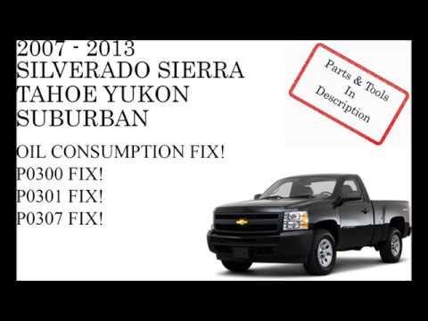 GM Silverado Sierra Skip FIX! Oil Consumption FIX!