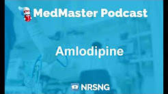 Amlodipine Nursing Considerations, Side Effects and Mechanism of Action Pharmacology for Nurses