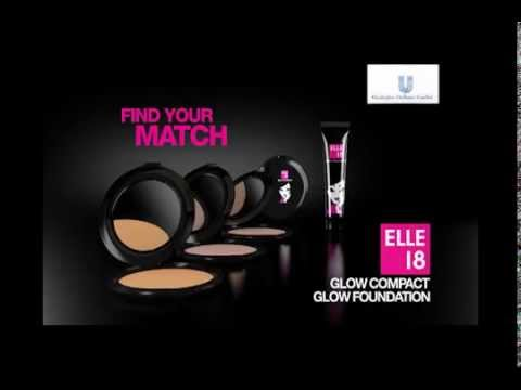 Get the Glow: Elle 18 Glow foundation and compact
