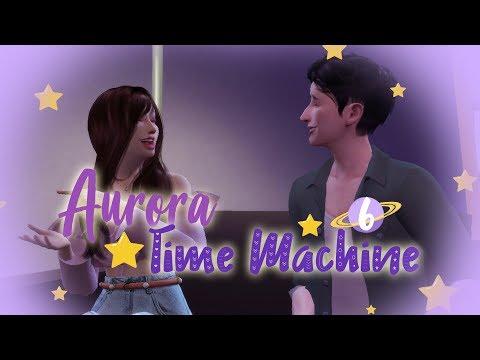 The Sims 4 Indonesia : Aurora Time Machine - PDKT Sama Stewart~ 🌒6