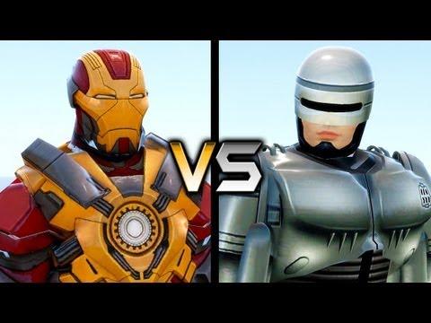Iron Man vs RoboCop