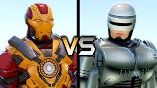 Repeat youtube video Iron Man vs RoboCop
