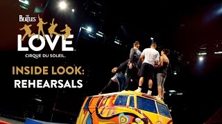 Video The Beatles LOVE by Cirque du Soleil | Open Rehearsals [CLOSED] download MP3, 3GP, MP4, WEBM, AVI, FLV Juli 2018