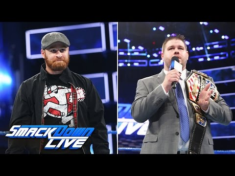 Sami Zayn and Kevin Owens join the blue brand: SmackDown LIVE, April 11, 2017
