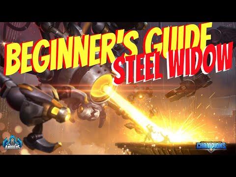 Dungeon Hunter Champions:  Beginner's Guide For Steel Widow | Post Update 5