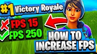How to Get MORE FPS in Fortnite Battle Royale! | Best Fortnite Settings [v2]