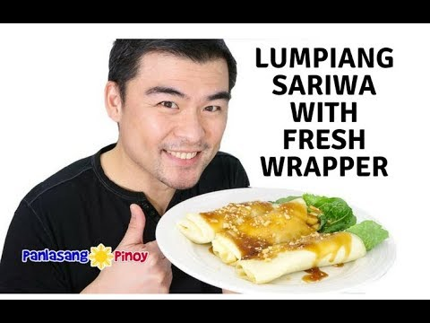 How To Cook Lumpiang Sariwa With Fresh Lumpia Wrapper