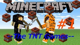 """Kinetic Wizardry Is Fun"" TNT Games w/ Tiger & CyrilFS #1 (Minecraft)"