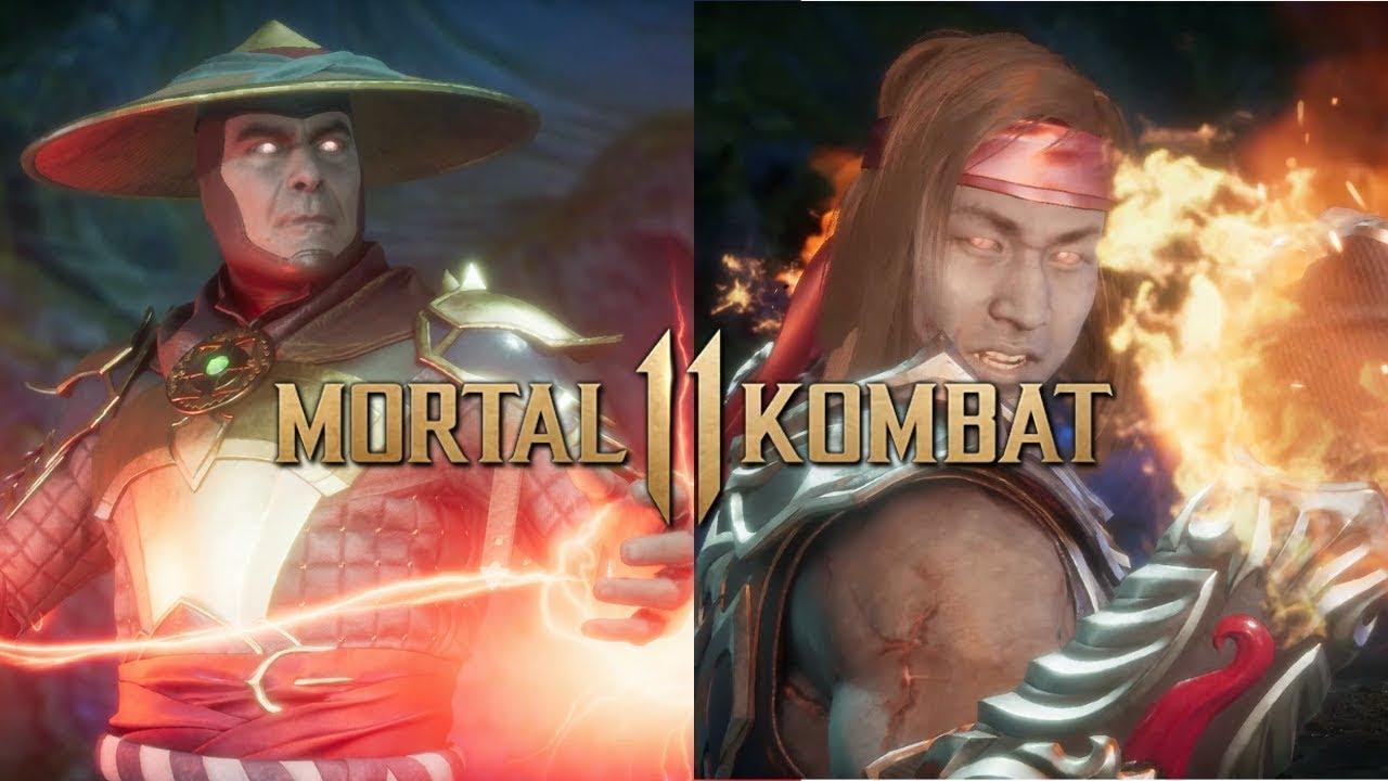 MORTAL KOMBAT 11 | LIU KANG VS RAIDEN