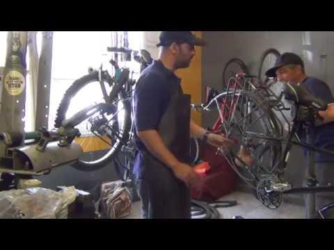 Santiago, Chile Carlos' Bike Shop. Amazing Guy! Fatih Aksoy