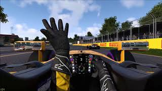 F1 2017 Game, Taking Alonso under braking
