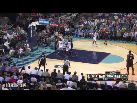 LeBron James Full Highlights at Bobcats 2014 Playoffs East R1G4 - 31 Pts, 9 Ast