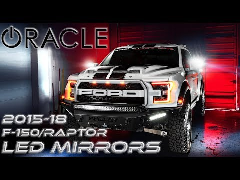 Oracle   Ford F  Raptor Led Side Mirrors Install