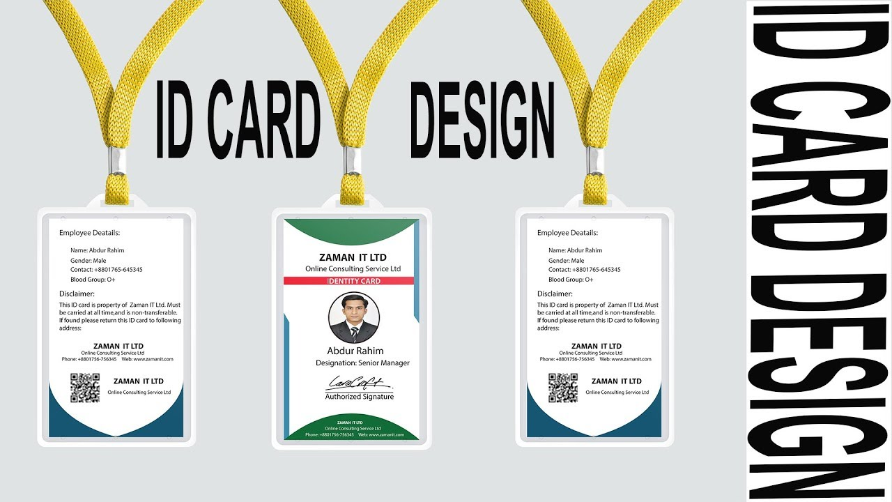 Official Method amp; Photoshop Backside Front Adobe Illustrator Card Design Tutorial Id