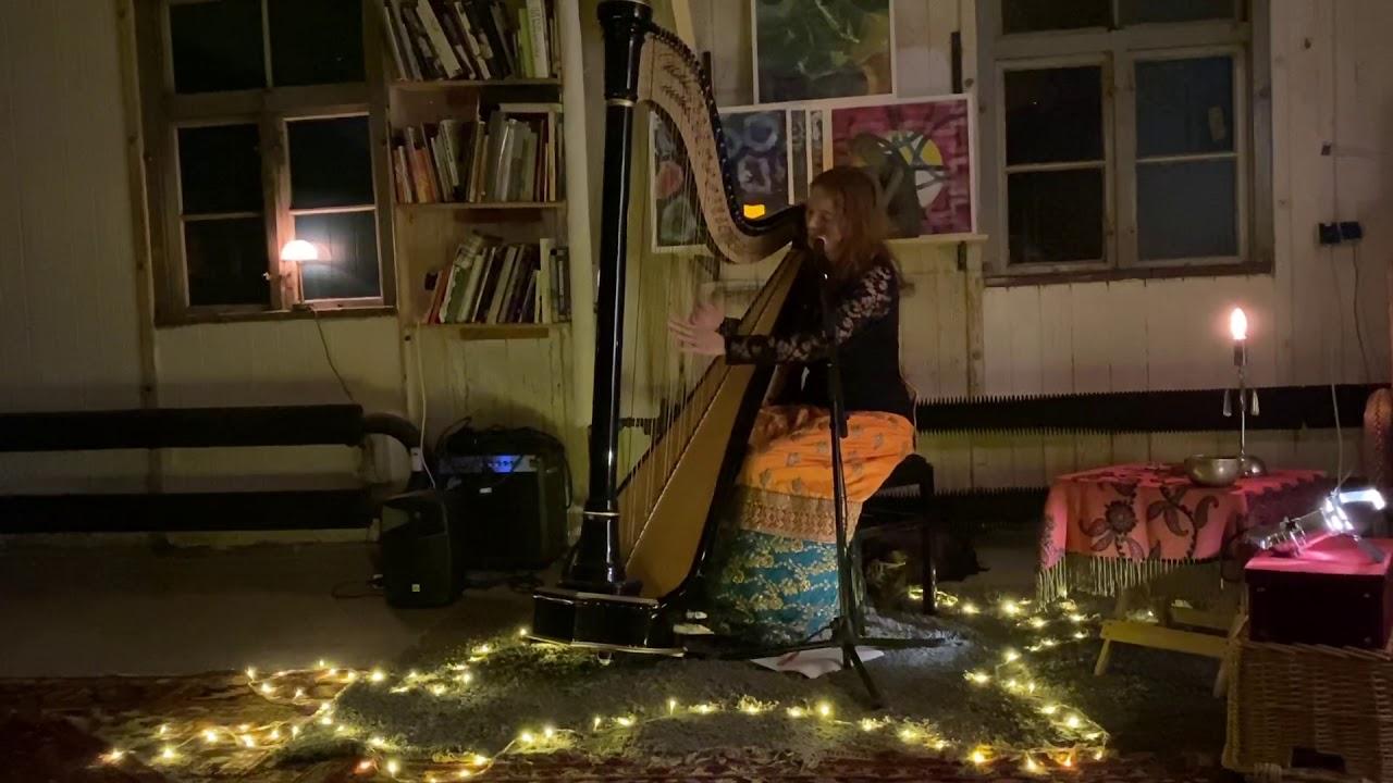 Ocean of gold (Mariele harp and voice Orginal) live