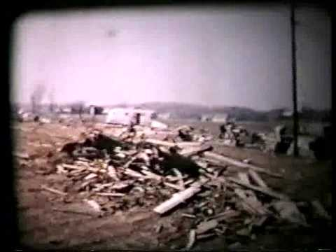 Hudsonville Michigan 1956 Tornado Damage