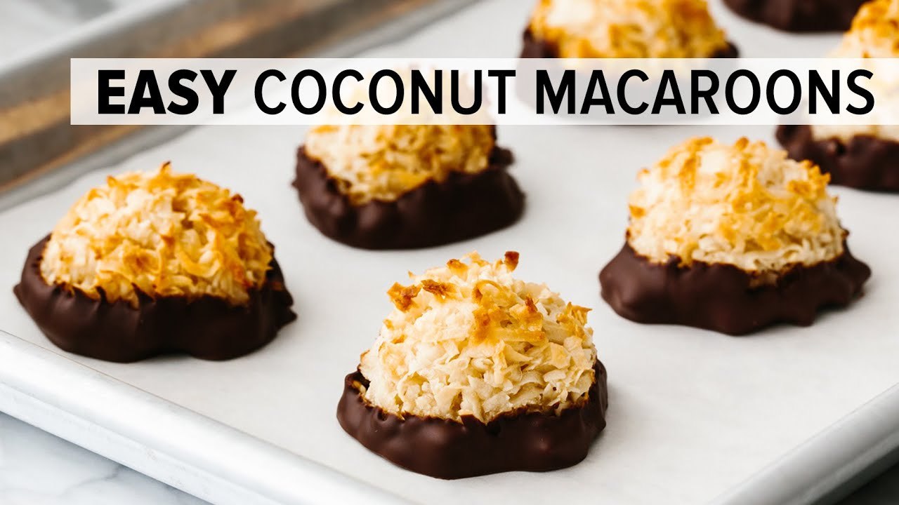 Coconut Macaroons Downshiftology