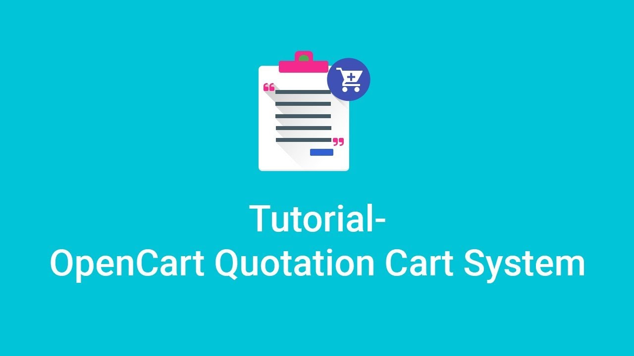 Opencart Quote Extension | B2B Quotation Cart Module