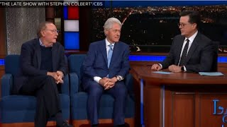 "Bill Clinton is offered second chance to address Lewinsky scandal, #MeToo on ""Late Show"""