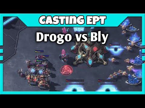 The Houdini of Starcraft - Bly vs Drogo Semifinals | Casting EPT Americas #17 Feat. Maynarde