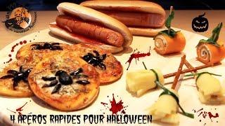 Recettes apéros Halloween simples faciles rapides et ORIGINALES!!!