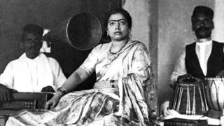 Gauhar Jaan, the very first Indian recording (1904)
