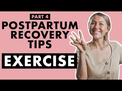 Postpartum Exercises for a Better Recovery | Birth Doula