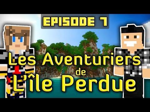 Minecraft : Les Aventuriers de L'île Perdue   Episode 7