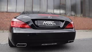 MEC Design Mercedes R231 SL500 Exhaust - Sound Version Earthquake