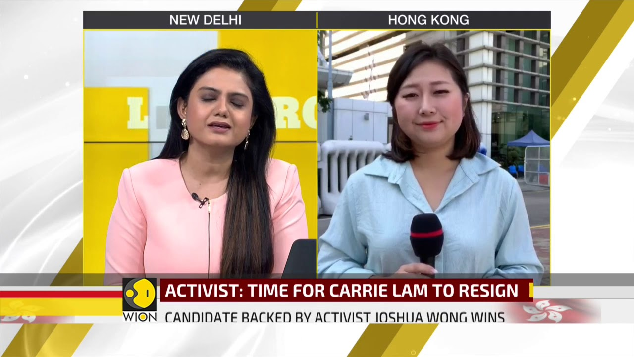 Hong Kong Election: Pro-Democracy parties ahead in 12 out of 18 districts