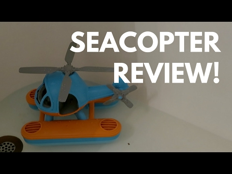 A Favorite for Tub Time! // Green Toys Seacopter Review!