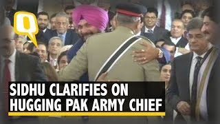 Navjot Singh Sidhu Clarifies On Hugging Pakistan Army Chief