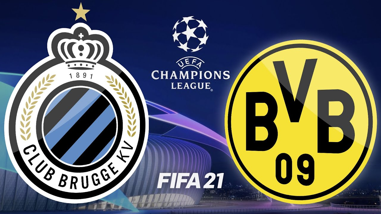UEFA Champions League Highlights · FC Brügge – BVB Borussia Dortmund ·  FIFA 21 · PS4 Pro