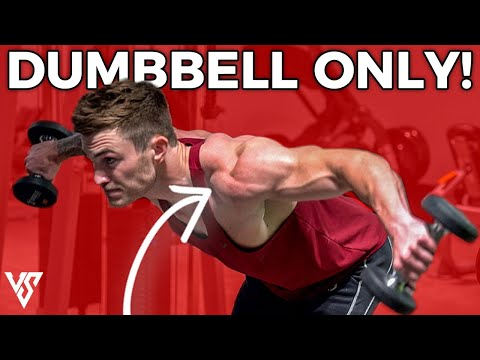 Dumbbell Only Workout – Make Serious Gains Only Using Dumbbells