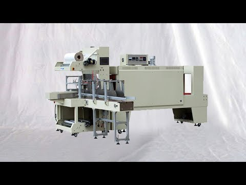Bottles Packs Film Sleeve Sealing Heat Wrapping Equipment Machine D'emballage De Bouteilles