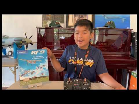 RF9 Flight Simulator - Review and flights!