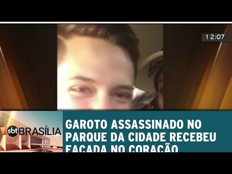 Garoto assassinado no parque da cidade recebeu facada no coração | SBT Brasília 10/07/2018