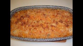 Тефтели с капустой в духовке. Маринкины творинки