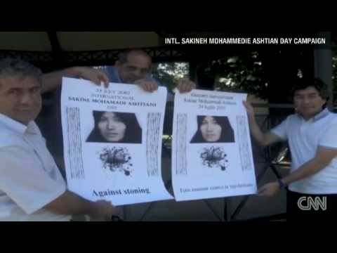 World demonstrations in support of Iranian woman sentenced to be stoned to death - 24 July 2010