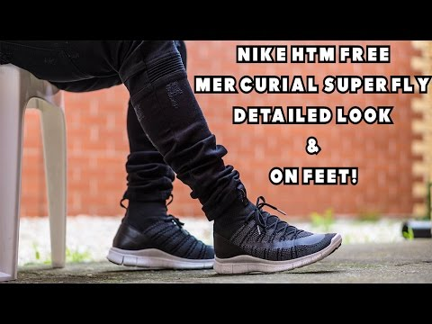 huge selection of 048cb 237d1 Nike HTM Free Mercurial Superfly Detailed Look + On Feet! - YouTube
