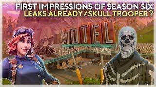 Fortnite Season 6 First Impressions, Hints of Skull Trooper's Return, Leaks (Fortnite Battle Royale)