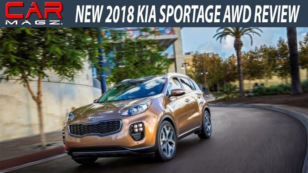 2018 KIA Sportage EX SX LX Review And Specs
