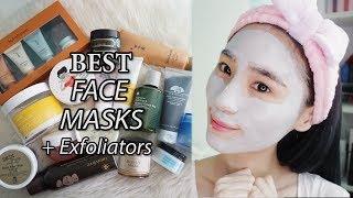 Best Korean Face Masks + Exfoliators & GIVEAWAYS!